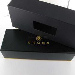 Stylo Bille Cross® Bailey Noir Laqué